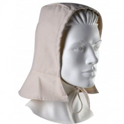 Cagoule de protection en coton ignifugé, protège nuque