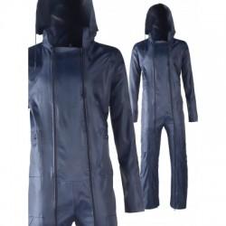 Combinaison de pluie. P.V.C sur support polyester.