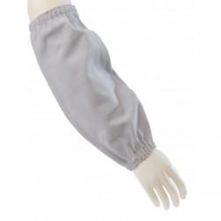 Manchettes soudeur de protection en cuir croûte. Longueur 40 cm. La paire.