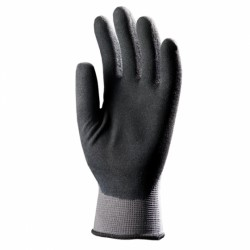 Gants fins tricotés nylon enduction en micromousse de latex 6330 de EUROTECHNIQUE latex