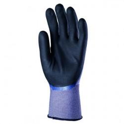 Gants tricoté nylon Spandex® double enduction nitrile EURODRY 6220 de EUROTECCHNIQUE