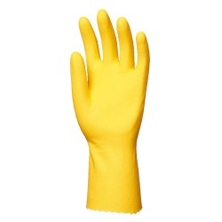 GANTS MENAGE EN LATEX JAUNE 5030 DE EUROTECHNIQUE