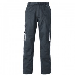 PANTALON DE TRAVAIL MULTIPOCHES NAVY DE COVERGUARD 60% COTON 40% POLYESTER