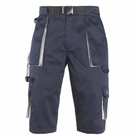BERMUDA LONG SHORT DE TRAVAIL MULTIPOCHES NAVY DE COVERGUARD