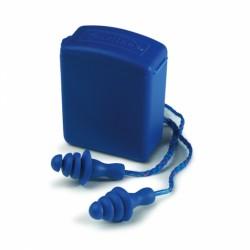 Bouchons d'oreilles réutilisables, détectables avec cordon de EARLINE