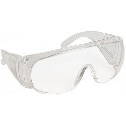 SURLUNETTES DE PROTECTION EN POLYCARBONATE INCOLORE VISILUX 60400 DE LUX OPTICAL