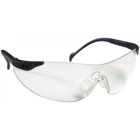 LUNETTES DE PROTECTION EN NYLON BRANCHES REGLABLES ET ORIENTABLE STILUX 60510 DE LUX OPTICAL