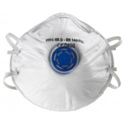 Masque antipoussière FFP3 NR D coque, soupape 23378 de SUP AIR