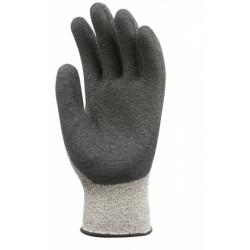 Lot de 10 paires de gants anticoupure niveau 5 enduit latex crepé 6930 de EUROTECHNIQUE