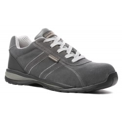 CHAUSSURES DE SECURITE BASSES S1P SRA HRO EN CUIR VELOUR TYPE TENNIS ANKERITE DE COVERGUARD