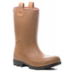 BOTTES DE SECURITE FOURREES EN PU ISOTHERME RIGAIR SAFETY S5 CI DE DUNLOP