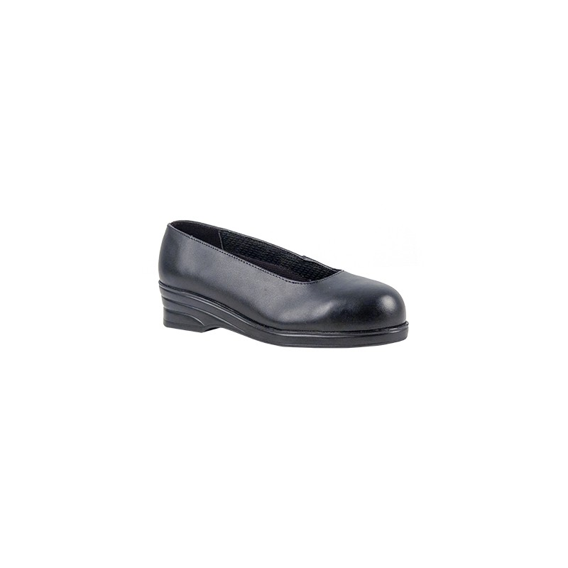 chaussures de securite femme elegantes en cuir escarpins de securite. Black Bedroom Furniture Sets. Home Design Ideas