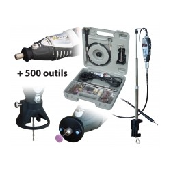 PERCEUSE XSPEED + 500 OUTILS