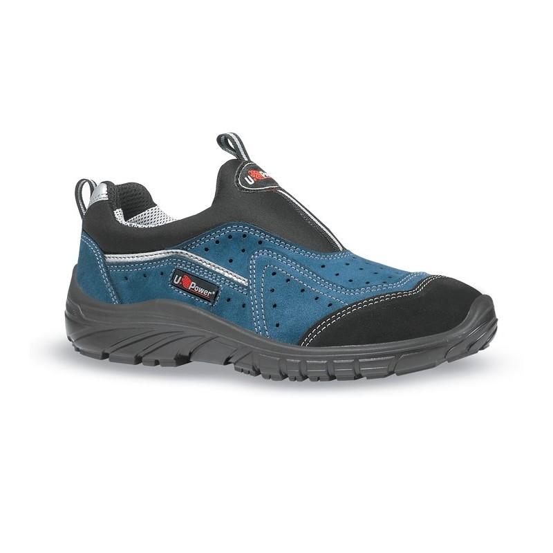 Chaussures de sécurité basses sans lacet MISTRAL de U.POWER. Loading zoom