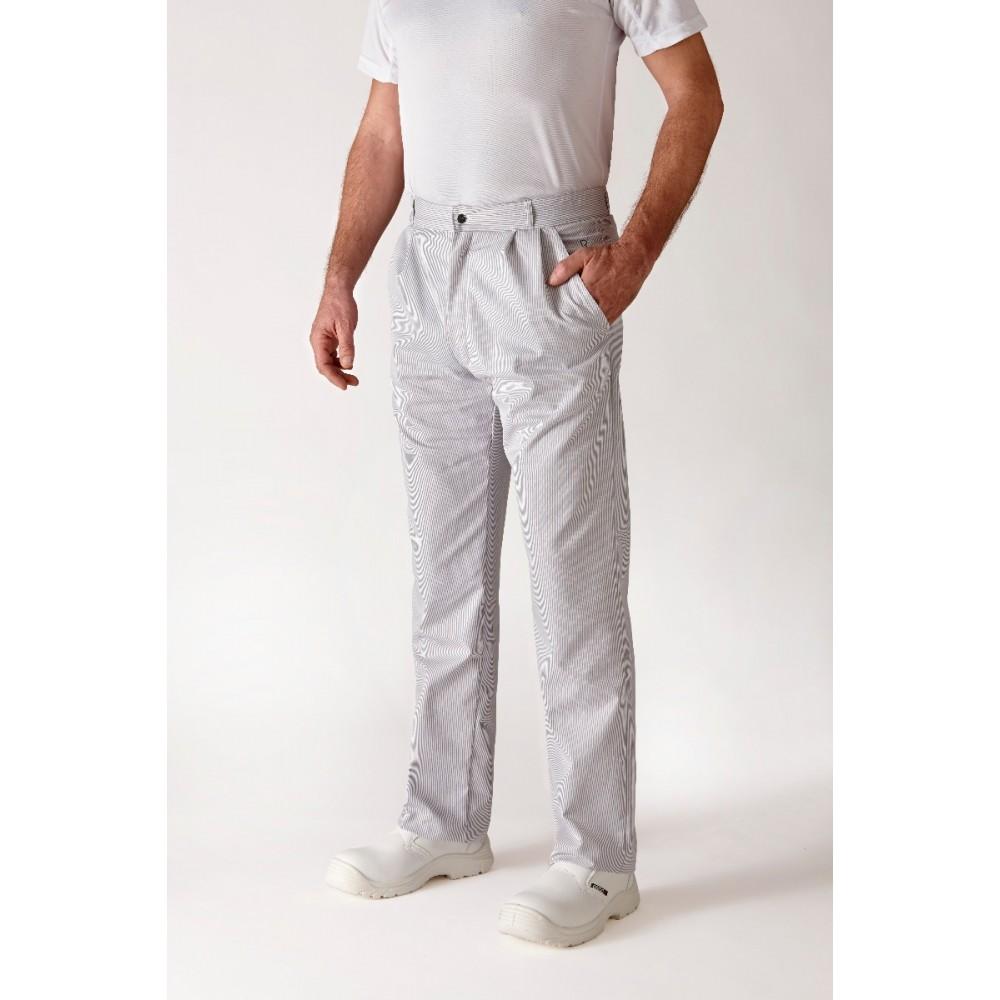 V tements de cuisine robur alize pantalon mixte - Vetement de cuisine robur ...