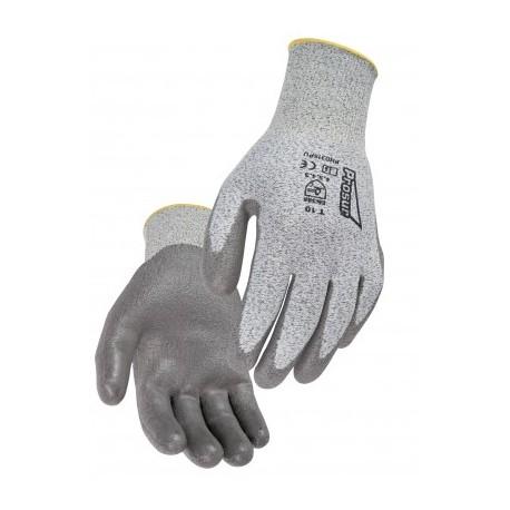 Gant PEHD. Coupure 5. Paume enduite polyuréthane (PU). Jauge 13.