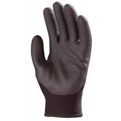 Gants fourré tricoté nylon, enduit PVC HPT 6630 de EUROTECHNIQUE