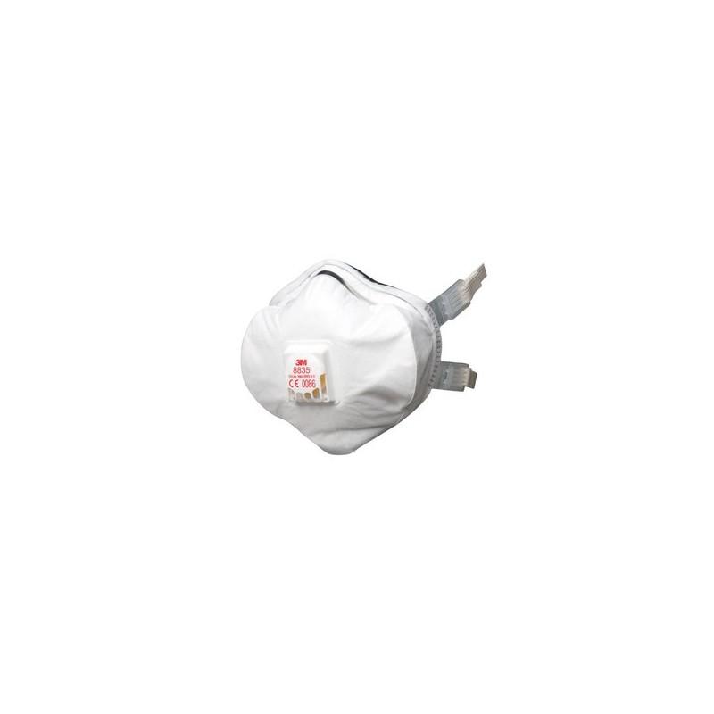 masque anti poussiere 3m ffp3