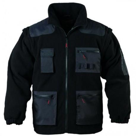 veste polaire multipoches