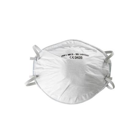 Masque antipoussière FFP1 NR D coque de SUP AIR