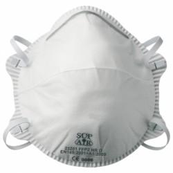 Masque antipoussière FFP2 NR D SL coque 23201 de SUP AIR