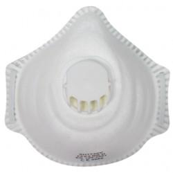 Masque antipoussière FFP3 NR D coque, soupape 23316 de SUP AIR