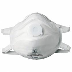 Masque antipoussière FFP3 NR D SL coque, soupape 23306 de SUP AIR