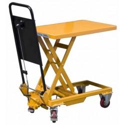 TABLE ELEVATRICE HYDRAULIQUE A PEDALES 150 KG POUR UTILISATION OCCASIONNELLE
