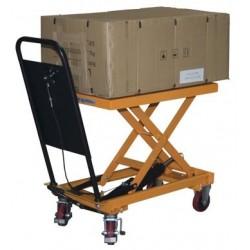 TABLE ELEVATRICE HYDRAULIQUE A PEDALES 250 KG POUR UTILISATION OCCASIONNELLE