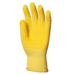 Gants tricotés en KEVLAR® avec picots anticoupure, 4645 de EUROTECHNIQUE