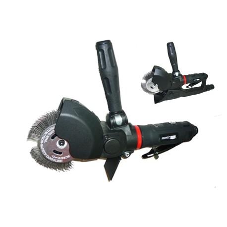 Brosseuse pneumatique en coffret avec une brosse crochue 23 mm Cedrey UT8775A