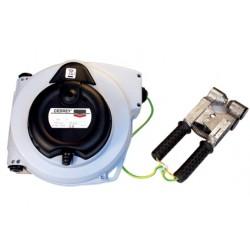 Enrouleur automatique pneumatique ATEX avec pince de mise à la   terre Cedrey 615ATEX