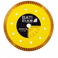 DISQUE DIAMANT BATIMENT CARRELAGE CERAMIQUE MARBRE CGX90 DIAM.125 mm AL. 22,23 - Ep 1,2 mm