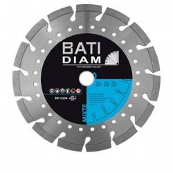 DISQUE DIAMANT MIXTE DIAM.125mm AL.22.23 PRO PREMIIUM DE CHANTIER MX30 BATIDIAM