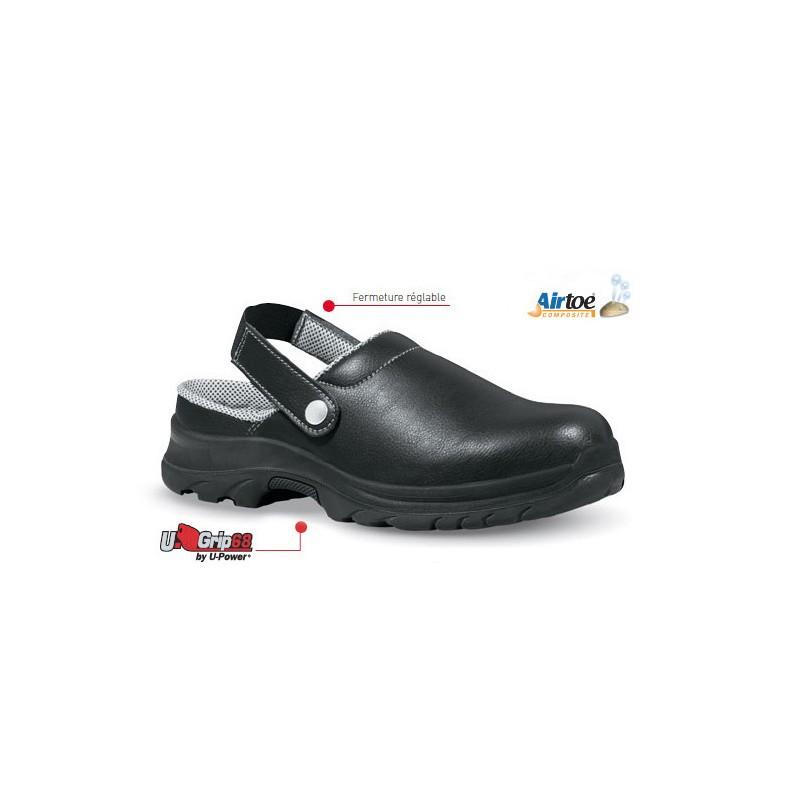 chaussures de sport 822c7 e5aa5 CHAUSSURES DE CUISINE SABOT DE SECURITE SUPER UPOWER UW60061