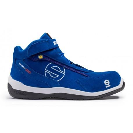 Chaussures de sécurité SPARCO montantes S3 basket de sécurité hautes RACING EVO 07515.AZAZ