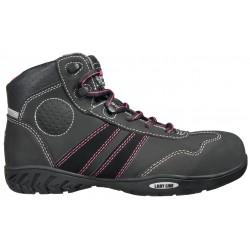 Chaussures de sécurité femme montantes S3 en cuir nubuck hydrofuge ISIS de Safety Jogger
