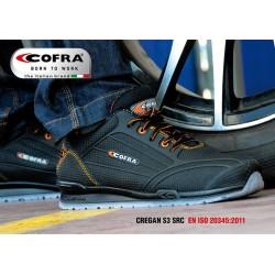 Basket de sécurité Cofra basses S3 SRC CREGAN légères, souples et confortables