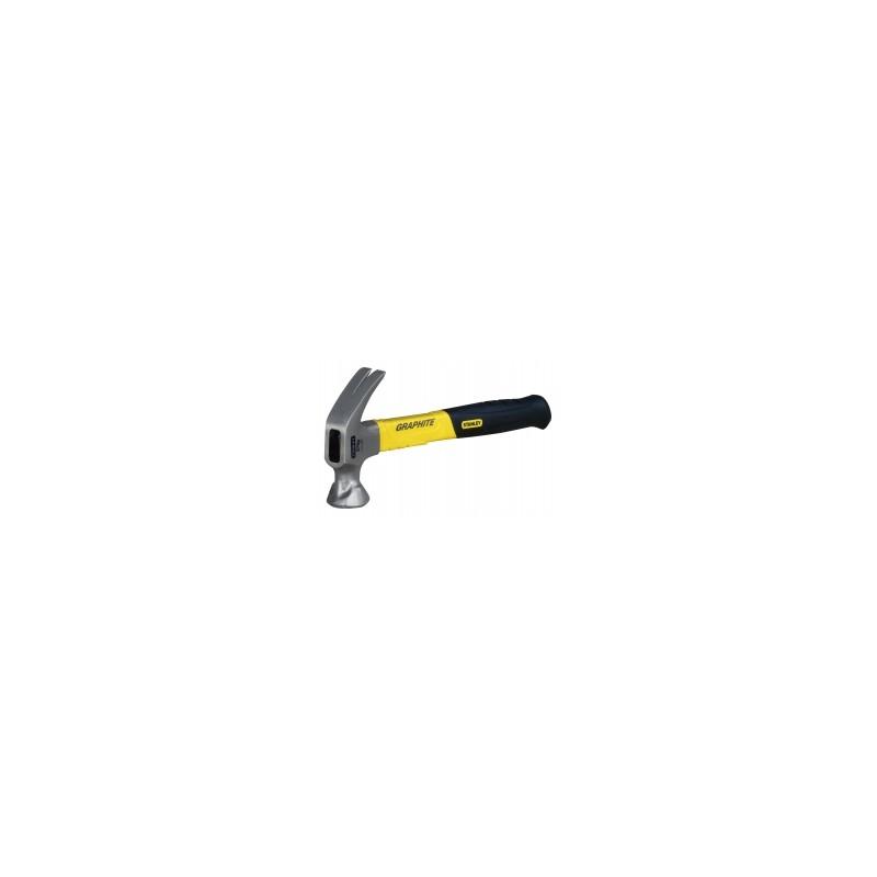 Stanley 1-51-505 Marteau arrache-clous manche graphite 450 g